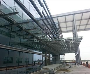 东海航空幕墙钢结构