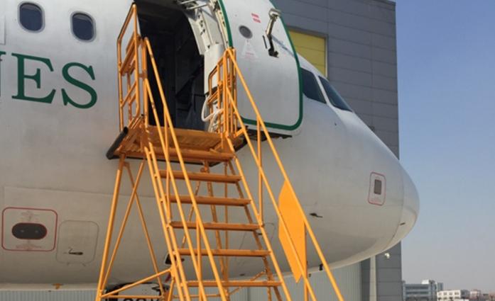 飞机维修工作梯